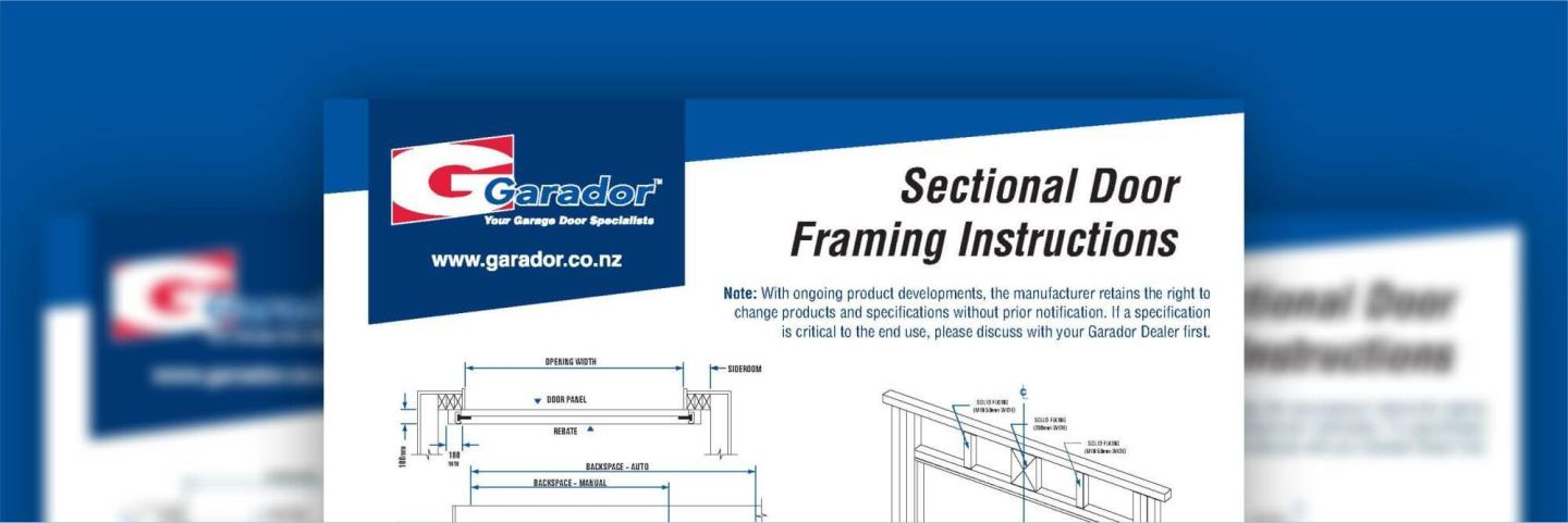 Specifications for Our New Zealand Garage Doors