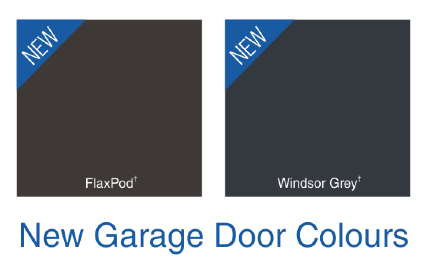 2 New Colours Added to the Garador Range