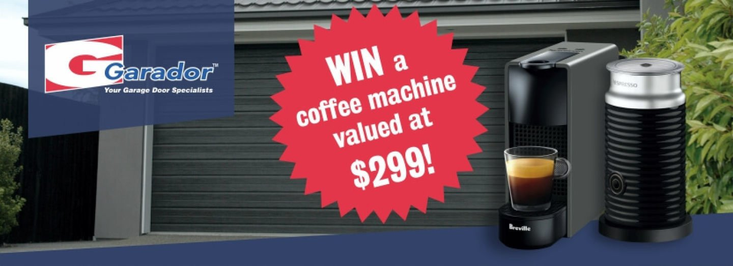 Be In to Win a Breville Nespresso Coffee Machine