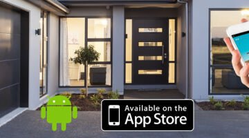 The ultimate in convenient and secure garage door control, Garador's Smartphone Control Kit