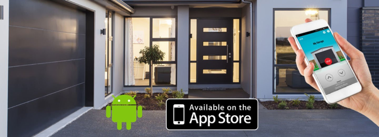 The ultimate in convenient and secure garage door control, Garador����¯�¿�½������¢������¯������¿������½������¯������¿������½s Smartphone Control Kit