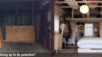 Easy steps to renovating a crusty garage